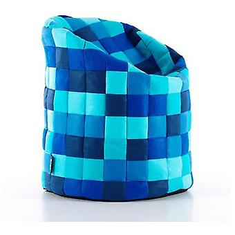 LaForma Fabric Pouf Pops Blue J26 (Furniture , Sofas , Puffs and footrest)