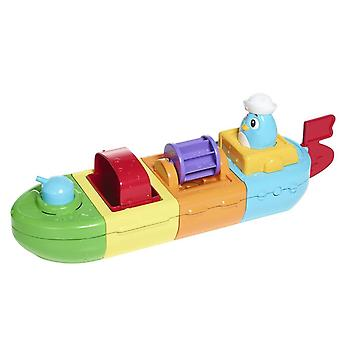 Tomy 72453 Aquabath Mix & Match Motor Boat