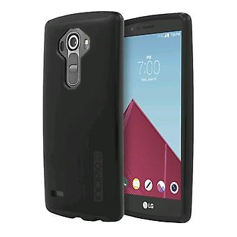 Incipio DualPro SHINE Case for LG G4 - Black/Black
