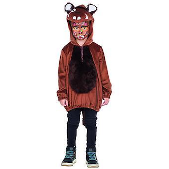Little monster costume Brown Kids unisex Halloween Carnival monsters