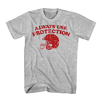 Humor Protection Men's Athletic Heather Funny T-shirt