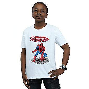 Marvel Boys The Amazing Spider-Man T-Shirt