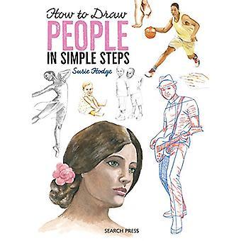 Wie zeichne - Menschen - In einfachen Schritten von Susie Hodge - 9781782214731 B