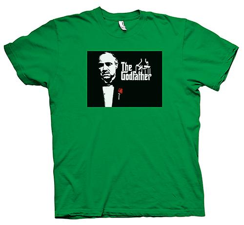 Mens T-shirt-de Godfather - Brando - maffia
