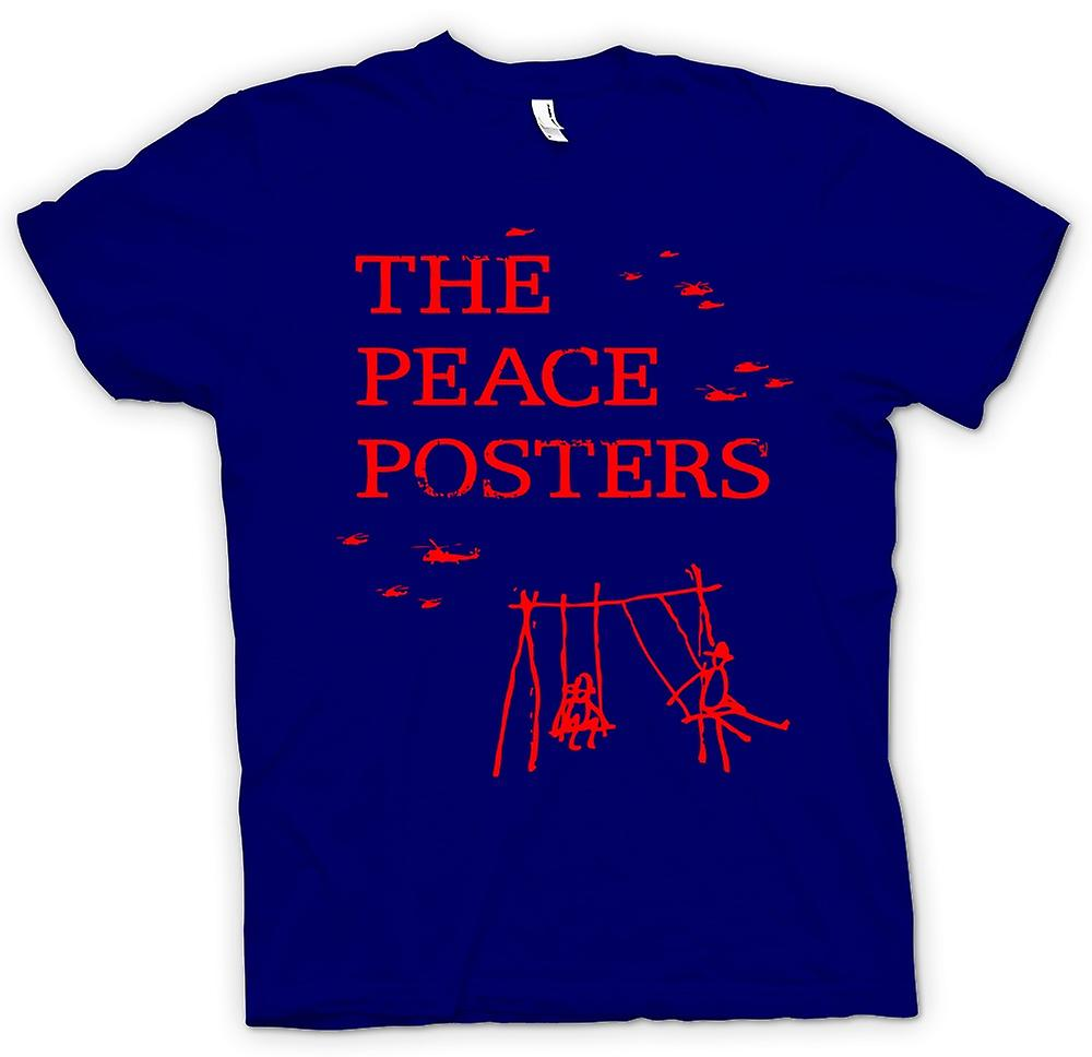 Mens T-shirt - The Peace Posters - Anti War