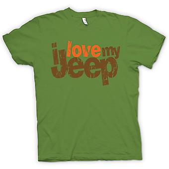 Kids T-shirt - I Love My Jeep - Car Enthusiast