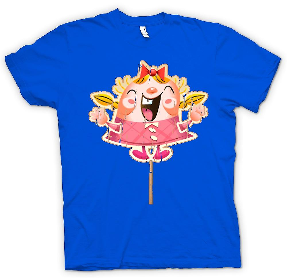 Mens T-shirt - Tiffi - Candy Crush Gamer