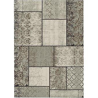 Garden Impressions Blocko buitenkleed 120x170 cm - dark sand