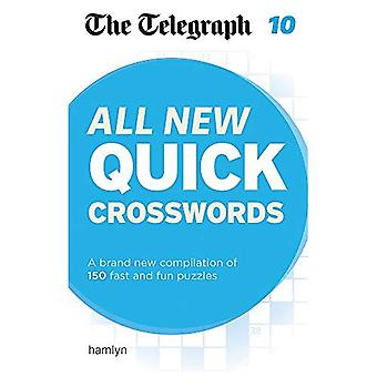 The Telegraph: All New Quick Crosswords 10 (The Telegraph Puzzle Books)