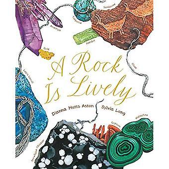 Un rocher est animé