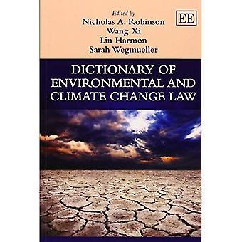Diccionario de medio ambiente y la ley de cambio climático (referencia Original de Elgar)