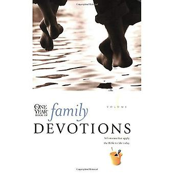 The One Year Book of Family Devotions: 1 (One Year Book of Family Devotions)