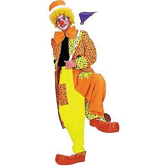 Orange Clownskostüm