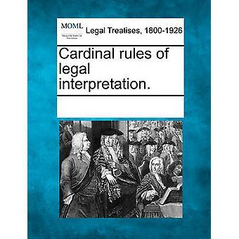 القواعد الأساسية للتفسير القانوني. قبل متعددة المساهمين & انظر الملاحظات