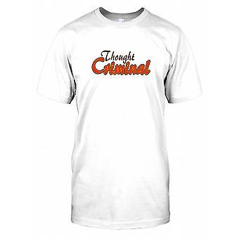 Gedachte misdadiger - 1984 - samenzwering Mens T Shirt