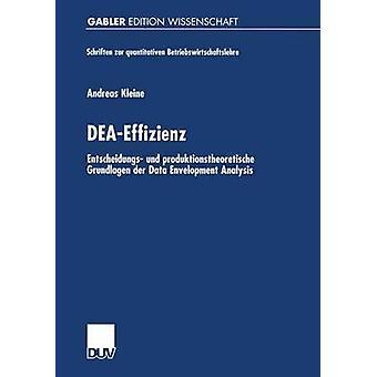 DEAEffizienz Entscheidungs Und Produktionstheoretische Grundlagen der Data Envelopment Analyse durch Kleine & Andreas