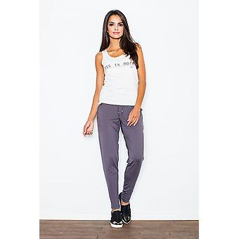 FIGL ladies trousers grey