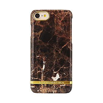Richmond & Finch Shell to iPhone 8/7-Brown Marble