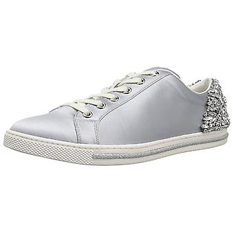BADGLEY MISCHKA Womens Shirley Fabric Low Top Lace Up Fashion Sneakers