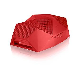 Outdoor Technology Red Big Turtle Shell Bluetooth Wireless Speaker
