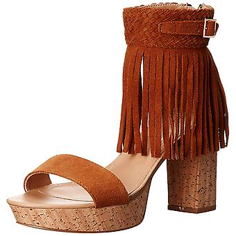 Nanette Lepore Womens Vanessa Leather Open Toe Ankle Strap Platform Pumps