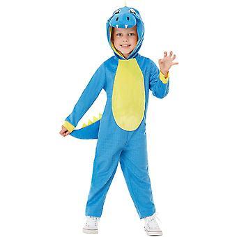 Dino disfraz infantil unisex carnaval traje animal mono dinosaurio lagarto T-Rex