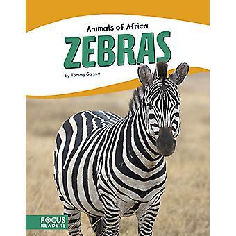 Zebras by Tammy Gagne - 9781635172690 Book