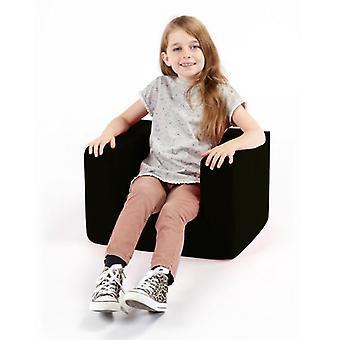 Kinderschwarzer bequemem Schaumstoff-Stuhl
