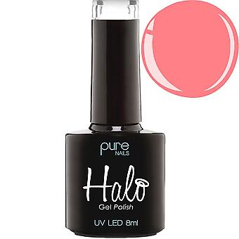 Halo Gel Nails LED/UV Halo Gel Polish Collection - Neon Peach 8ml (N2834)