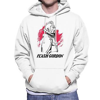Flash Gordon Ming Montage Men's Hooded Sweatshirt