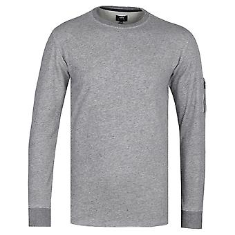 Edwin Mili-Terry Dark Grey Heather T-Shirt