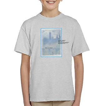 A.P.O.H Oscar Claude Monet Painting Quote Kid's T-Shirt