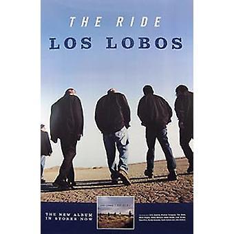 Los Lobos (Ride) alkuperäinen musiikki juliste