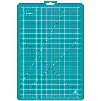 Gridded Rotary Mat With Handle 26