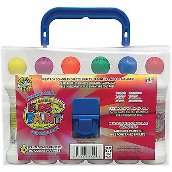 Kid's Paint Shimmer Scented Paint Markers 1.4oz 6/Pkg-  78721