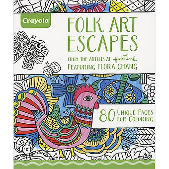 Crayola Folk Art échappe Coloring Book-992020