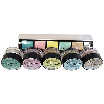 Lindy's Stamp Gang Magical Flat Set .25Oz 5 Pkg Tres Chic Mag Flat 5