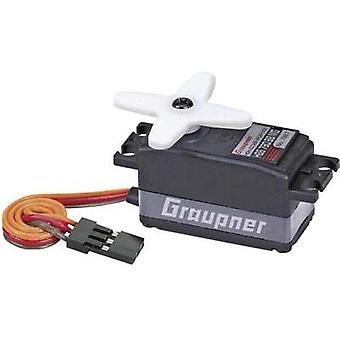 Graupner Standard servo HBS 790 BB MG Brushless servo Gear box material: Metal Connector system: JR