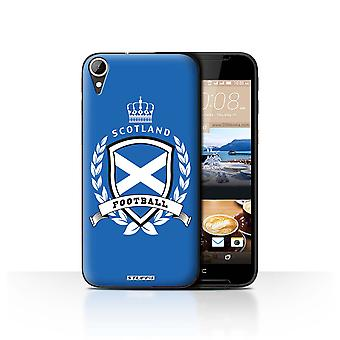 STUFF4 Case/Cover for HTC Desire 830/Scotland/Scottish/Football Emblem