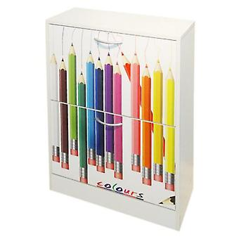 Kit Closet Decorated 2P Zapatero  pencils  40003