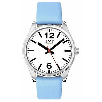 Limit Womens Blue Strap White Dial 6182.01 Watch