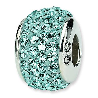 Sterling zilveren reflecties volledige December Swarovski Element kraal charme