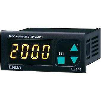 Enda EI141-SM SW Universal LED display El141 0 - 20 mA/4 - 20 mA/0 - 1 V/0 - 10 V Assembly dimensions 70 x 29 mm