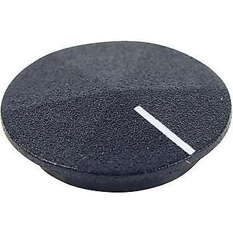 Cover + hand Black, White Suitable for K12 rotary knob Cliff