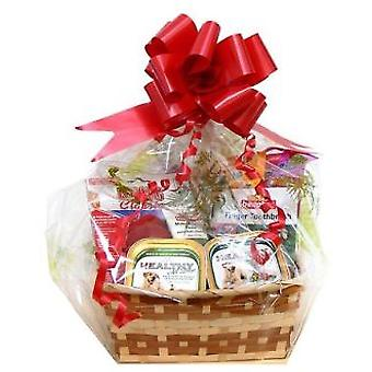 Cominter Small Dog Gift Basket (Dogs , Treats , Chewy and Softer Treats)