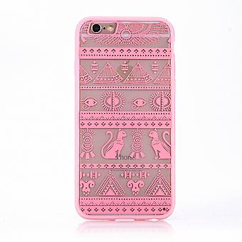 Mobile case mandala for Apple iPhone 6s plus design case cover motif Egyptian characters cover bag Bumper Rosa