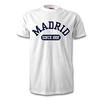 Real Madrid 1902 Established Football T-Shirt