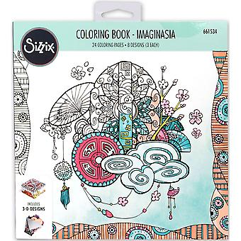 Sizzix Coloring Book-Imaginasia By Katelyn Lizardi 661534