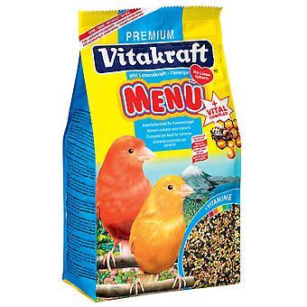 Canarias de Vitakraft menú 500g (paquete de 6)