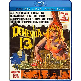 William Campbell - demens 13 [BLU-RAY] USA import